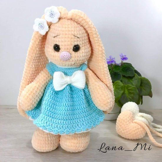 "Мастер-класс ""Зайка"" от LanaMi toys"