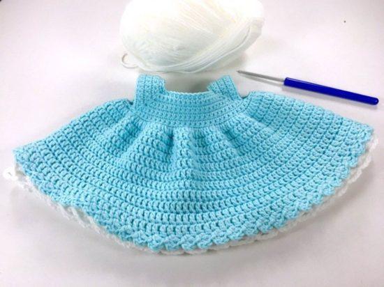 одежда для зайки описание вязания крючком