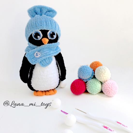 "LanaMi toys - Мастер-класс ""Пингвинчики"""
