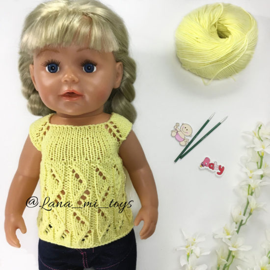 Курс по вязанию спицами - LanaMi toys