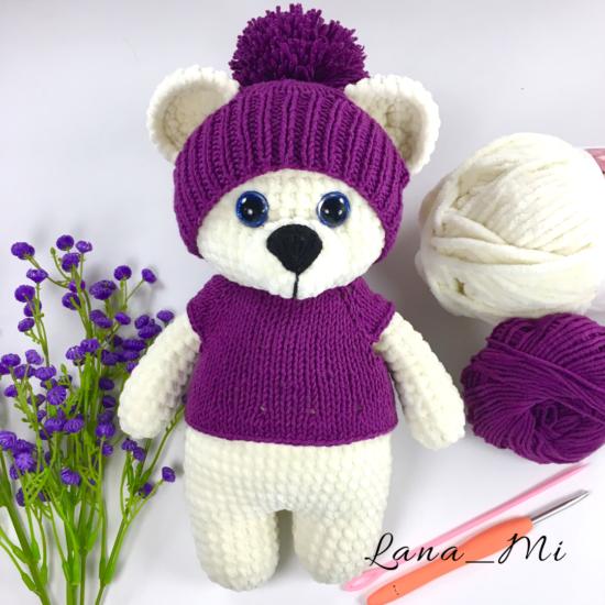 LanaMi toys - Плюшевый мишка крючком