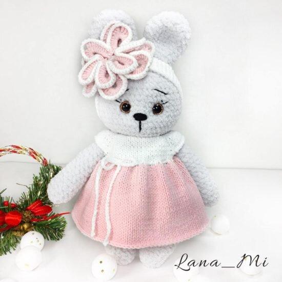 "LanaMi toys - Мастер-класс ""Зайка крючком"""