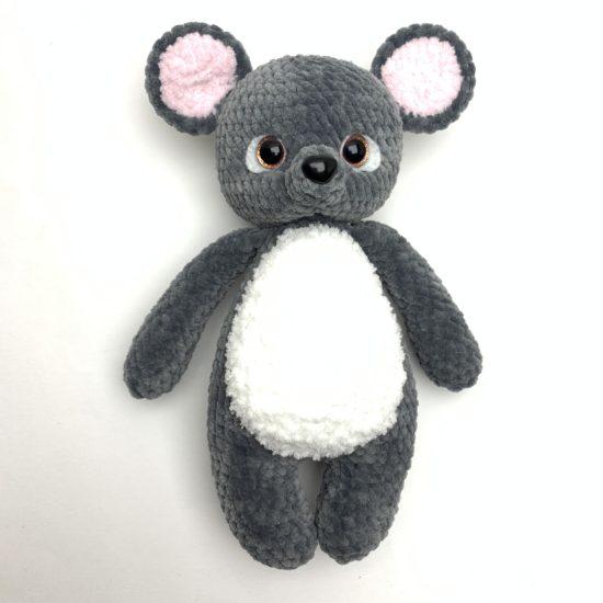 Мастер-класс мышонок новогодний от LanaMi toys
