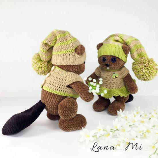 "LanaMi toys - Мастер-класс ""Бобренок"""