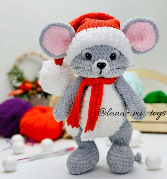 Новогодний мышонок схема от LanaMi toys