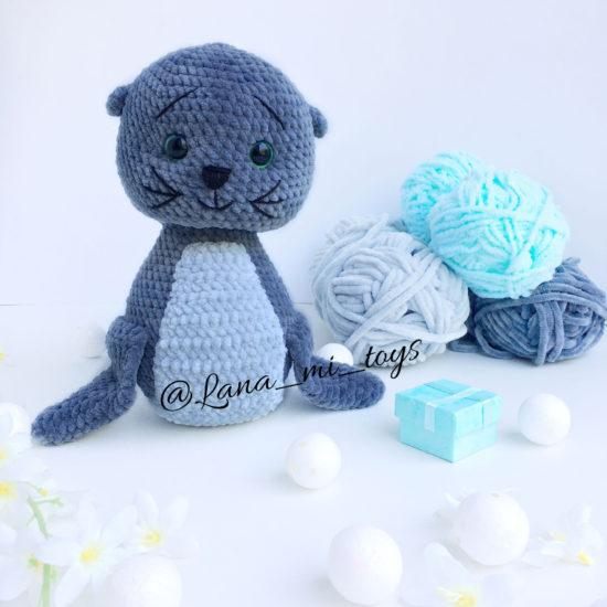 "LanaMi toys - Мастер-класс ""Морской котик крючком"""