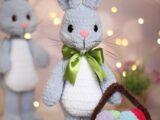 Мастер-класс Пасхальный кролик амигуруми